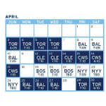 Rays 2016 Schedule