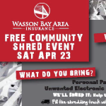Free Community Shred Event on Saturday, April 23rd
