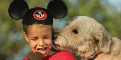 Dog lovers will find plenty of Disney amenities and special touches for their four-legged friends