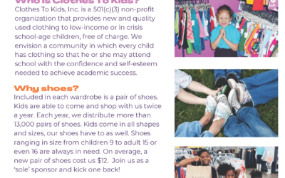 Clothes To Kids Announces Event – Kick One Back
